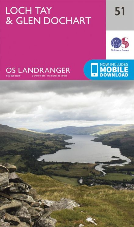 OS Landranger 51 - Loch Tay and Glen Dochart